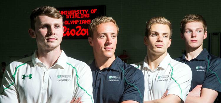 University of Stirling Olympians
